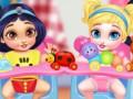 Παιχνίδια Messy Baby Princess Cleanup